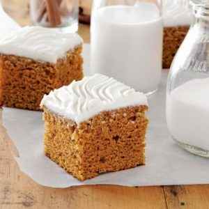 Frosted Harvest Cake
