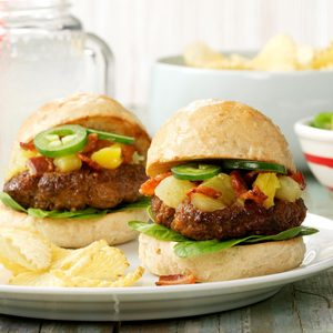 Hawaiian Beef Sliders