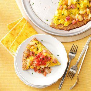 Hawaiian Breakfast Pizza