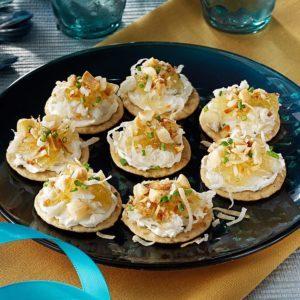 Hawaiian Crab Canapes