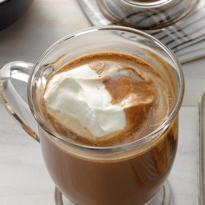 Hazelnut Mocha Coffee