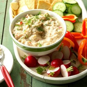 Healthy Greek Bean Dip