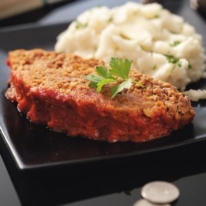 Healthy Slow-Cooked Meat Loaf