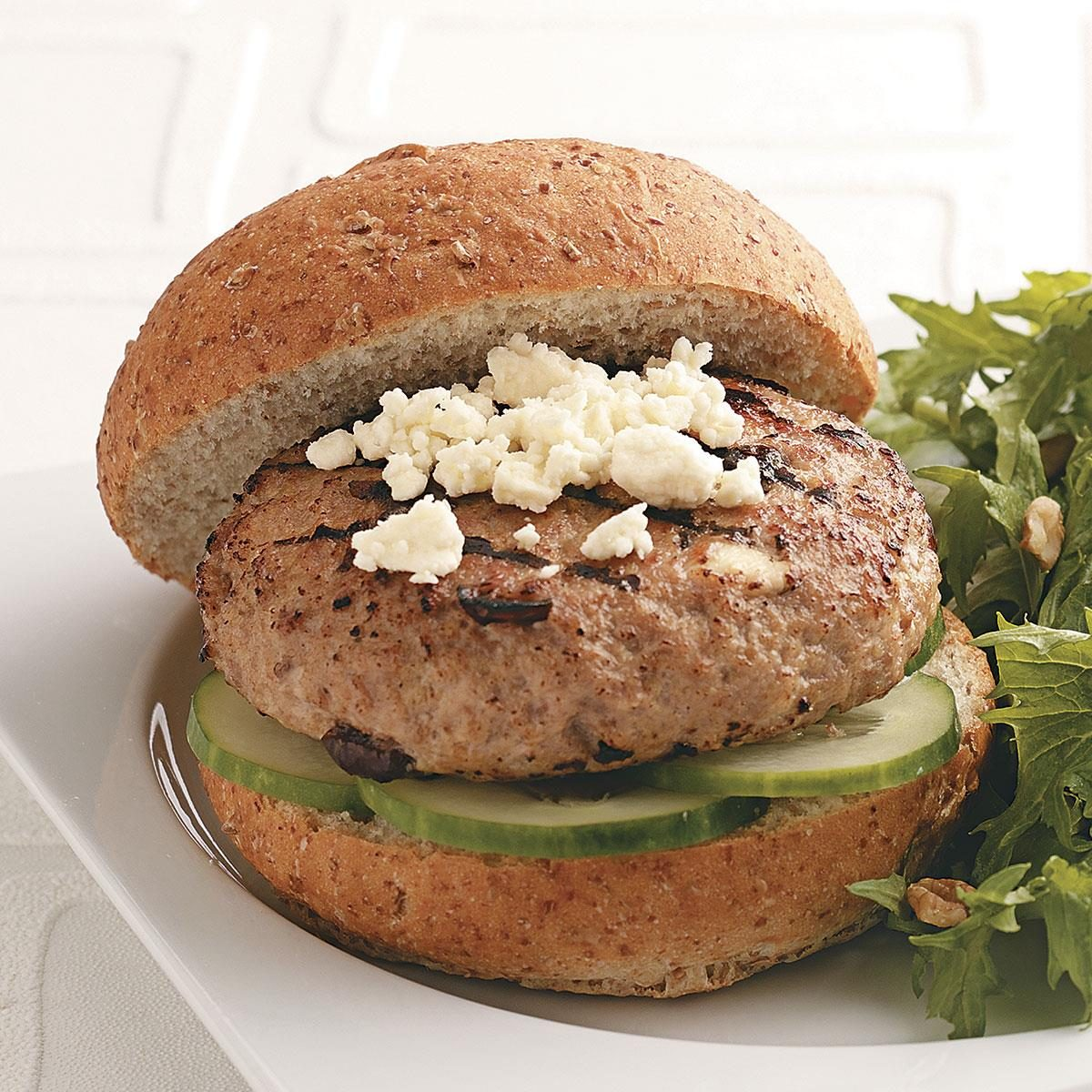 Healthy Turkey Burgers For Two Recipe How To Make It Taste Of Home