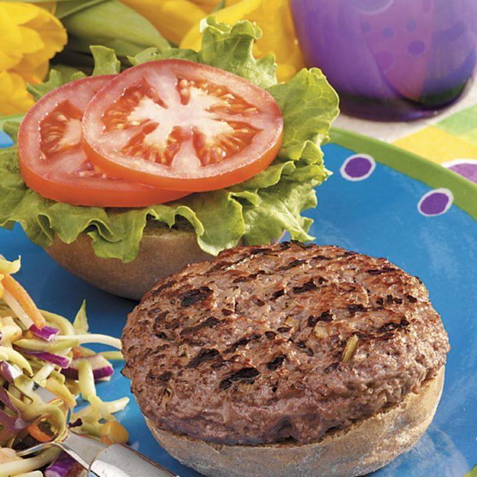 Hearty Backyard Burgers