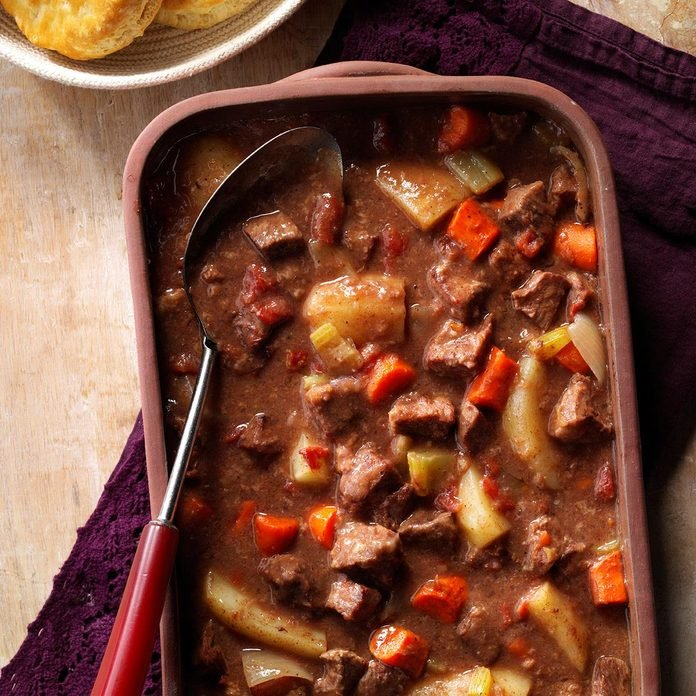 Hearty Baked Beef Stew