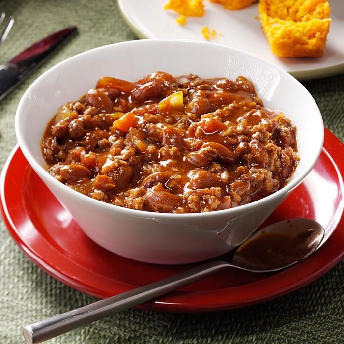 Hearty Beef & Bean Chili