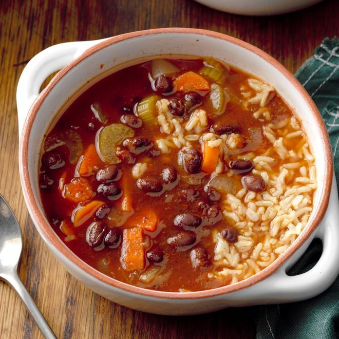 Hearty Black Bean Soup