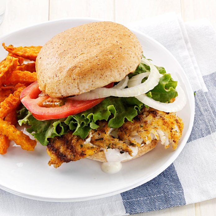 Inspired by: Crunch-Fried Fish Sandwich