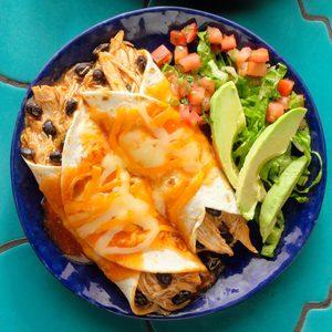 Hearty Chicken Enchiladas