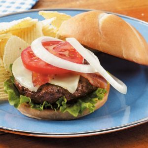 Hearty Country Burgers
