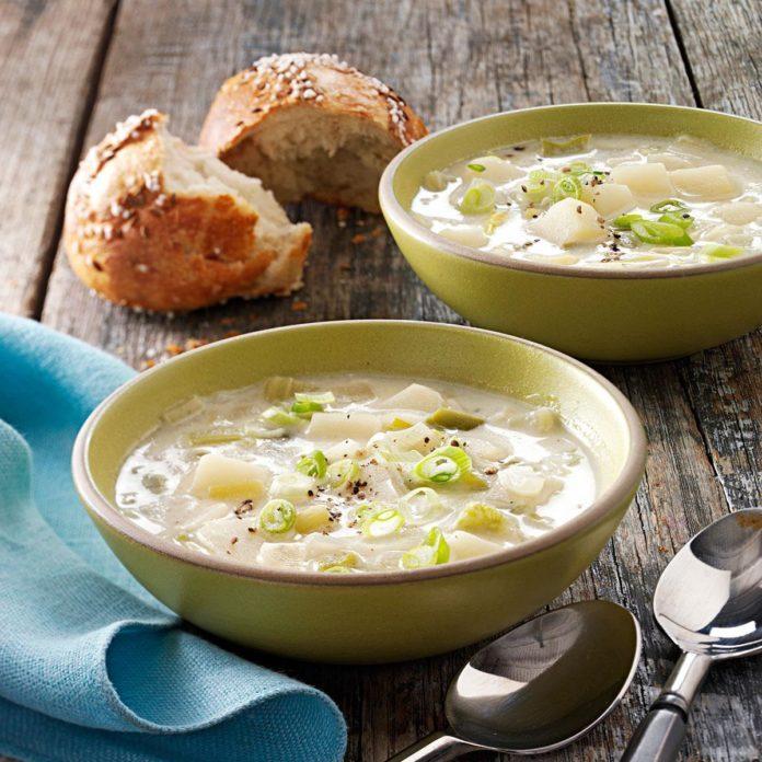 Leeks: Hearty Leek and Potato Soup