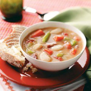 Hearty Lima Bean Soup