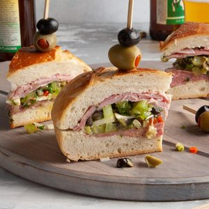 Hearty Muffuletta