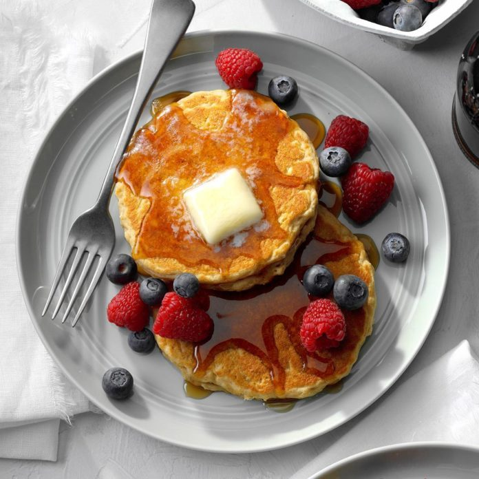 Hearty Multigrain Pancakes