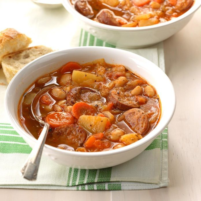 Day 20: Hearty Sausage Soup