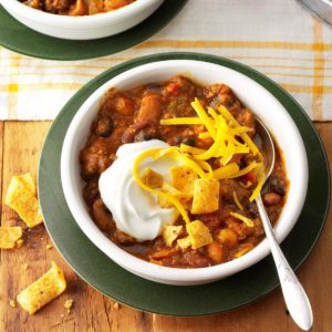 Hearty Taco Chili