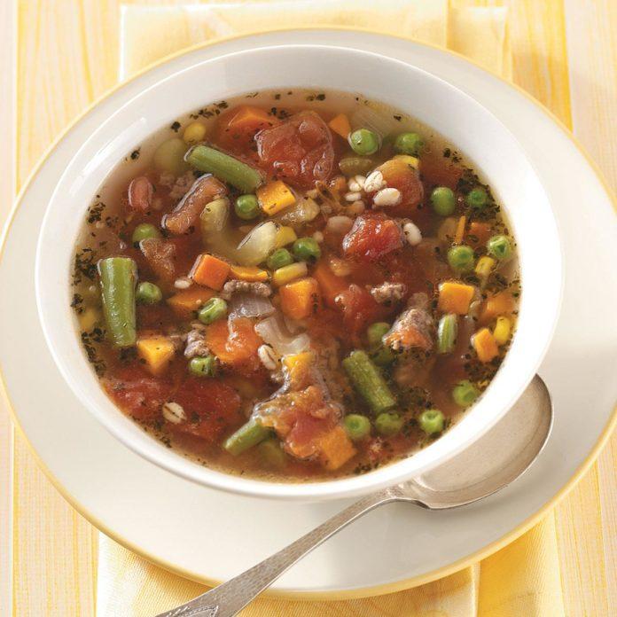 Hearty Vegetable Barley Soup