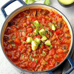 Hearty Vegetarian Chili