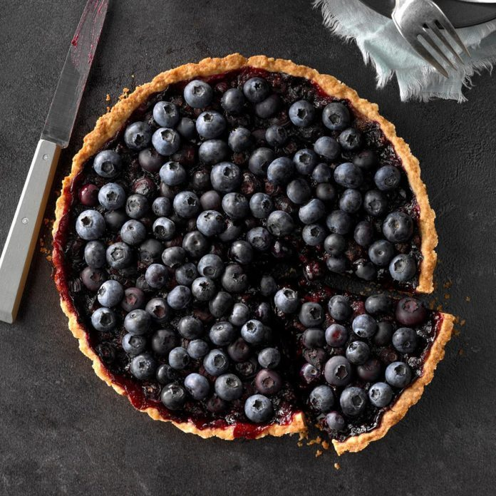 Heavenly Blueberry Tart