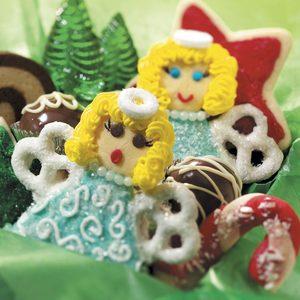 Heavenly Cookie Angels