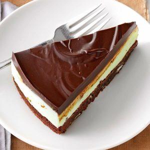 Heavenly Mint Brownie Dessert