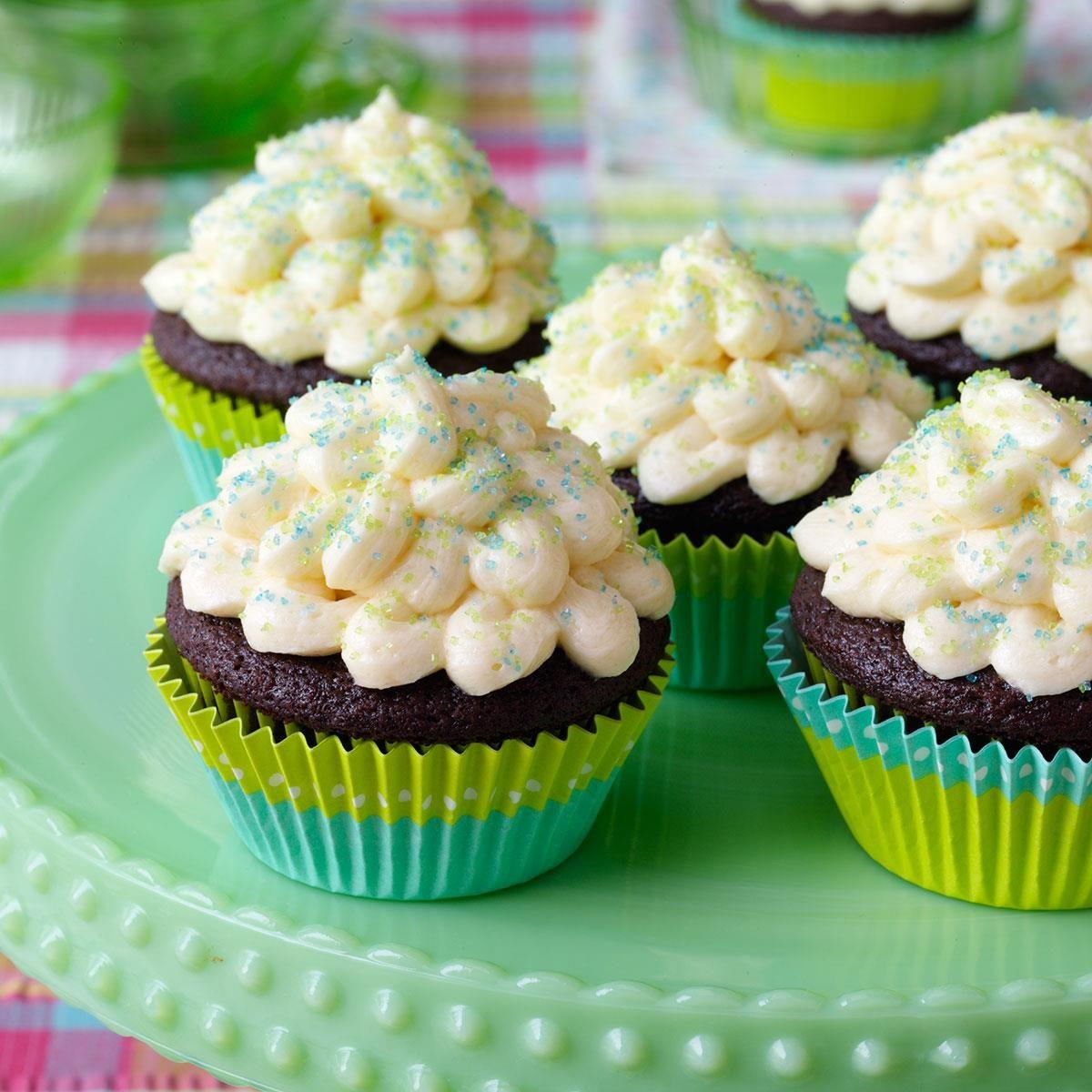 Heavenly Surprise Cupcakes