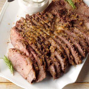 Herb-Crusted Chuck Roast