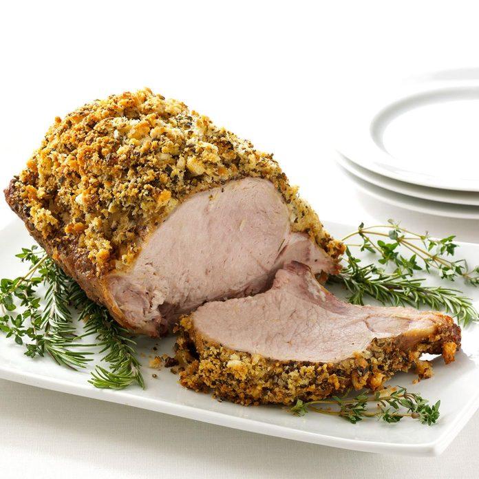 Herb-Crusted Pork Roast