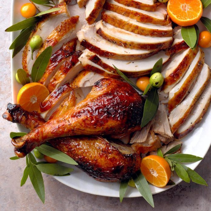 Herb-Glazed Turkey