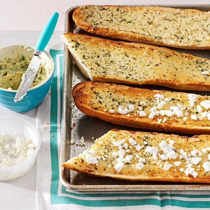 Herb-Happy Garlic Bread