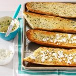Herb-Happy Garlic Bread