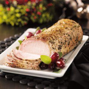 Herb-Rubbed Pork Loin