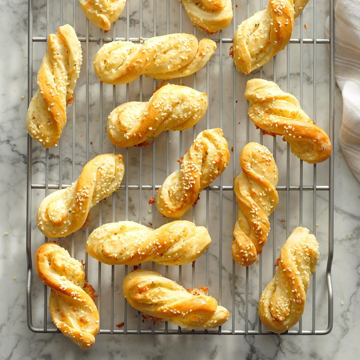 Herbed Bread Twists