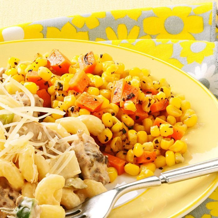 Herbed Corn and Carrots