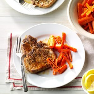 Herbed Lemon Pork Chops