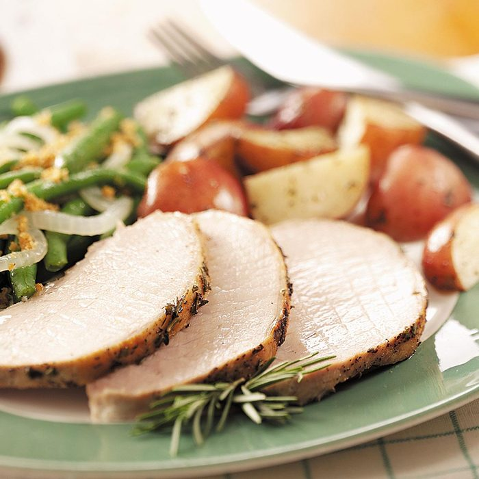 Herbed Pork and Red Potatoes