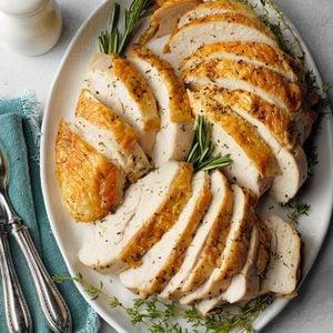 Herbed Roast Turkey Breast