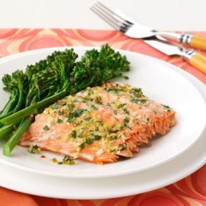 Herbed Salmon Fillet
