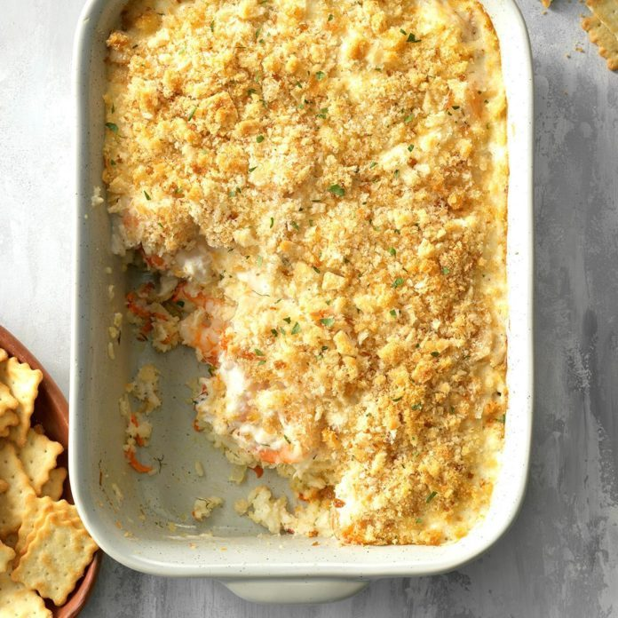 Herbed Seafood Casserole