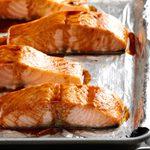 Hoisin & Honey Glazed Salmon