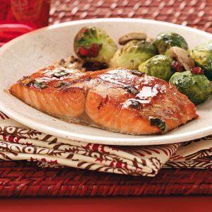 Hoisin Salmon Fillets