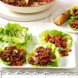 Hoisin Turkey Lettuce Wraps