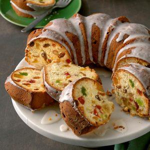 Holiday Ambrosia Cake