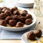 Holiday Appetizer Meatballs
