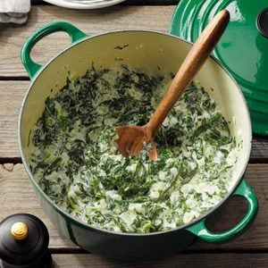 Holiday Creamed Spinach