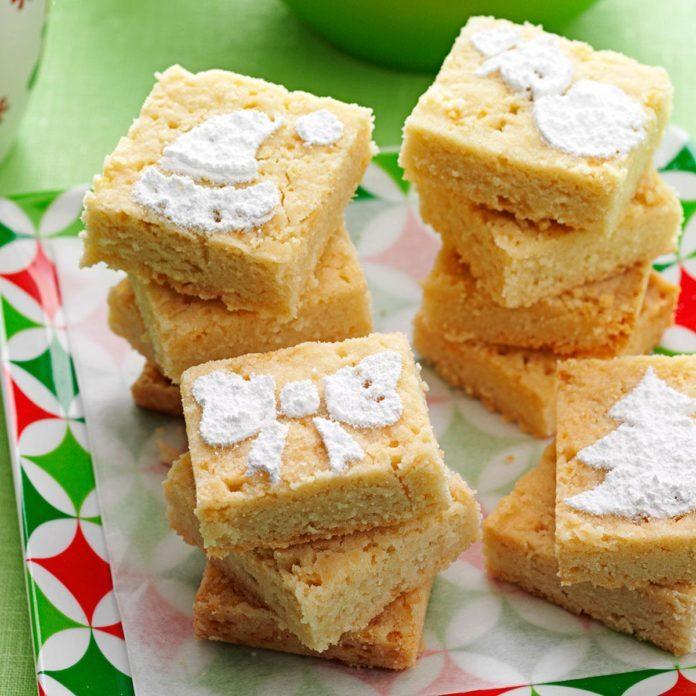 Holiday Shortbread Cookies