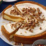 Holiday Sweet Potato Cheesecake