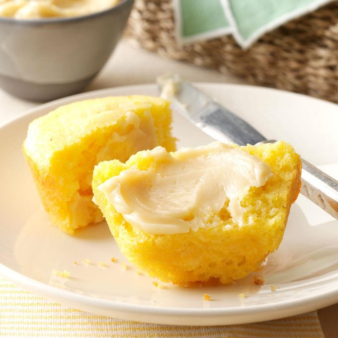 Homemade Corn Muffins With Honey Butter Exps41682 Hck143243c09 20 1bc Rms 6