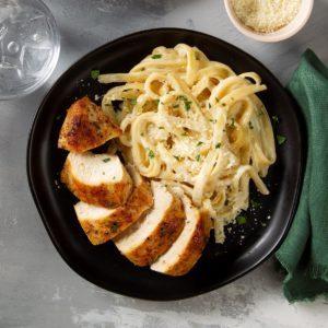 Homemade Fettuccini Alfredo